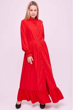Платье «Брайди» красного цвета