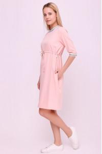Сукня «Карисса» кольору пудри