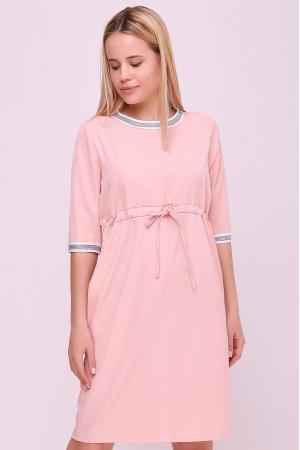 Платье «Карисса» цвета пудры