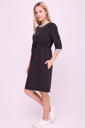 Платье «Карисса» черного цвета