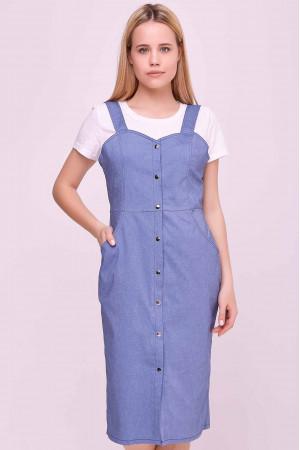 Сукня «Ріка» блакитного кольору