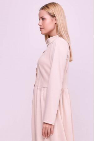 Платье «Белита» цвета пудры