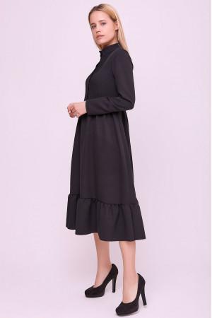 Платье «Белита» черного цвета