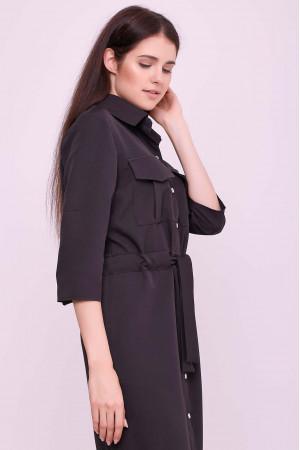 Платье «Астра» черного цвета