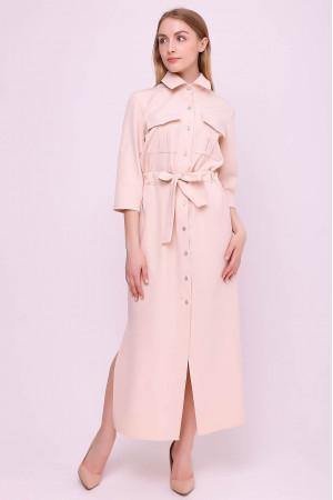 Сукня «Астра» кольору пудри