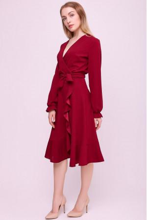 Платье «Вивит» красного цвета