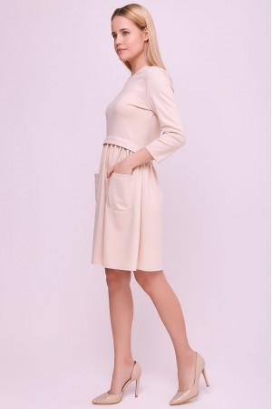 Платье «Мадалин» цвета пудры