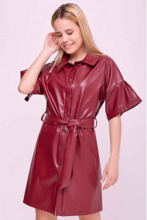 Сукня «Адетта» бордового кольору