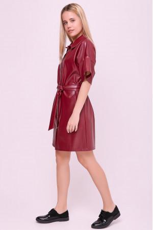 Платье «Адетта» бордового цвета