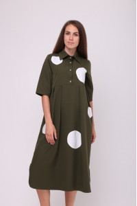 Сукня «Мона» кольору хакі