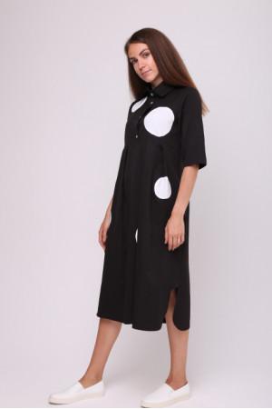 Платье «Мона» черного цвета