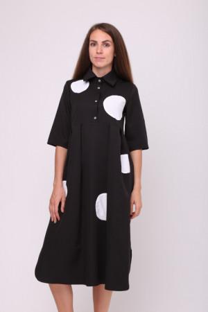 Сукня «Мона» чорного кольору