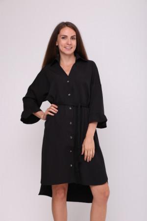Сукня-сорочка «Одрія» чорного  кольору