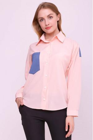 Блуза «Руби» цвета пудры