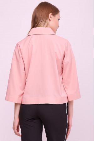 Блуза «Івет» кольору пудри