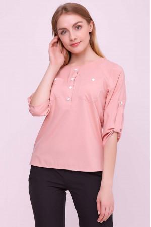Блуза «Новіта» кольору пудри