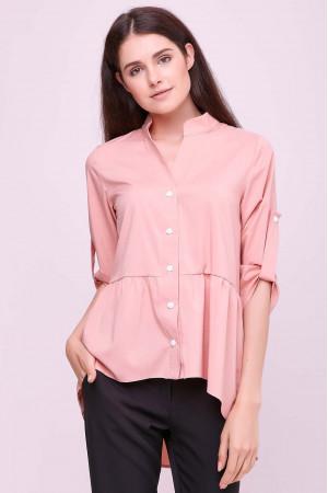 Блуза «Шерис» цвета пудры