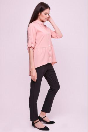 Блуза «Шеріс» кольору пудри