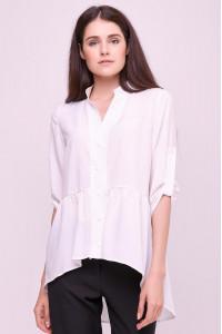 Блуза «Шерис» белого цвета