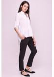 Блуза «Шеріс» білого кольору