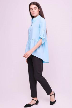 Блуза «Шеріс» блакитного кольору