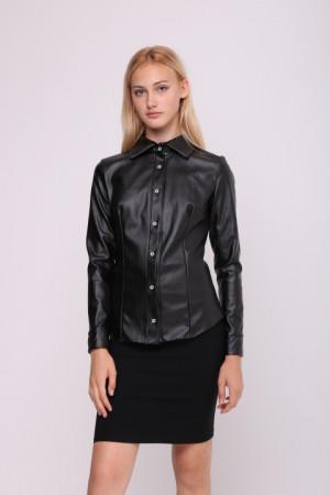 Блуза «Шаніка» чорного кольору