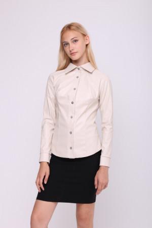 Блуза «Шаника» бежевого цвета