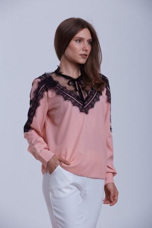 Блуза «Ліка» кольору пудри