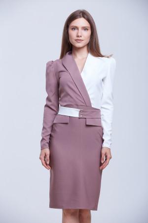 Платье «Далма» сиреневого цвета