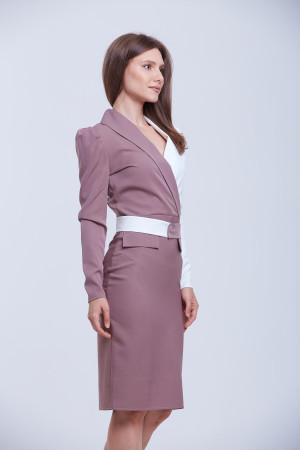 Сукня «Далма» бузкового кольору