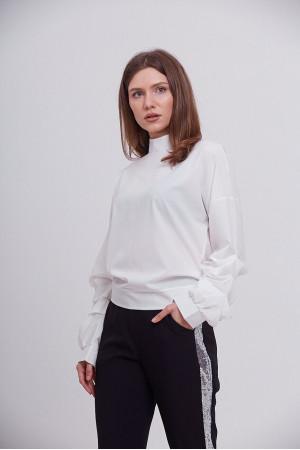 Блуза «Теата» белого цвета