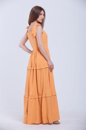 Платье «Ассоль» горчичного цвета