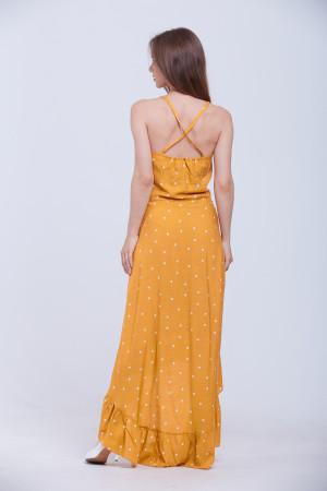 Сукня «Азалія» кольору гірчиці