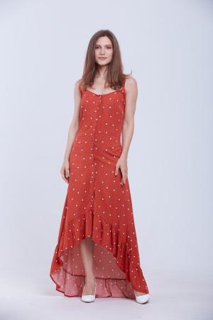 Сукня «Азалія» червоного кольору