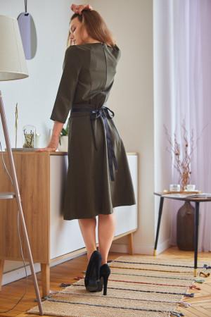 Сукня «Люпін» кольору хакі