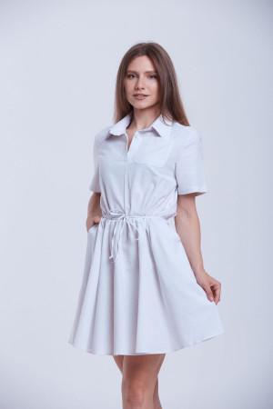 Платье «Злата» белого цвета