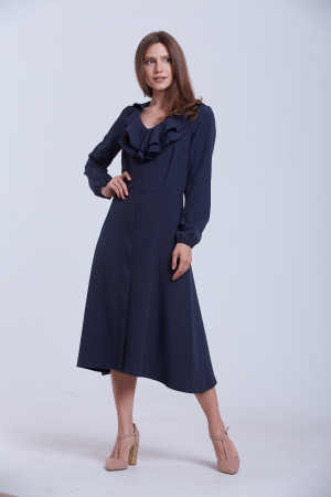 Платье «Тиффани» темно-синего цвета