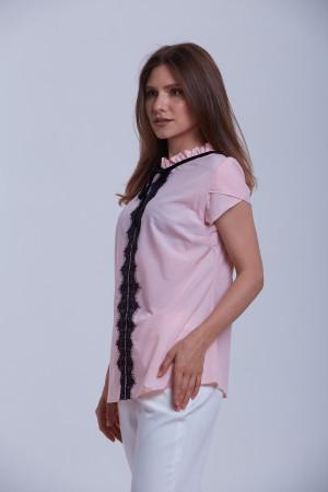 Блуза «Енже» кольору пудри