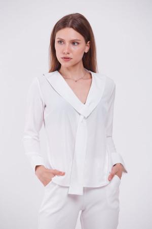 Блуза «Чіа» білого кольору