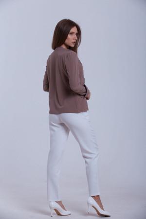 Блуза «Чіа» кольору кави