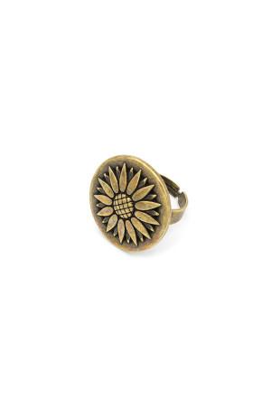 Кольцо «Оберег» бронза
