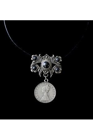 Дукач Італійська ліра (сріблення, гематит)