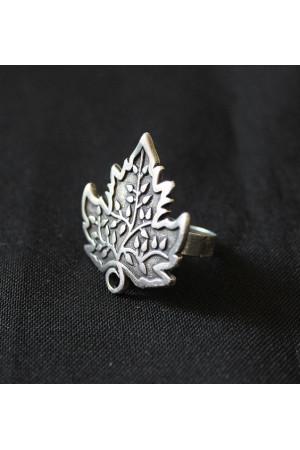 Перстень «Листок винограду»