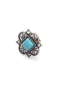 Кольцо «Никея», бирюза
