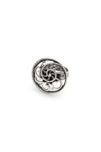 Кольцо «Виноградная улитка»