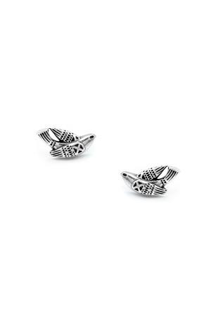 Сережки-пусети «Птаха» срібло