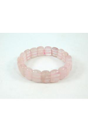 Браслет «Легкость» из розового кварца