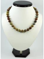 Ожерелье «Орех» из яшмы