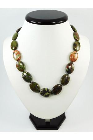 Ожерелье «Овал-макси» из яшмы