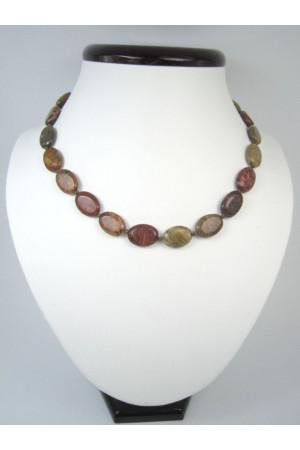 Ожерелье «Овал-мини» из яшмы